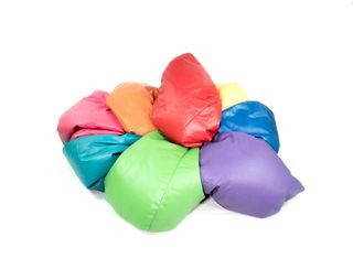 Mixed Coloured Bean Bags