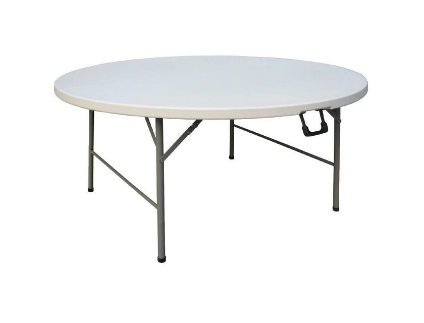 Round Trestle Table -