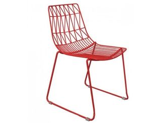 Red Wire Chair