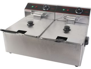 Double Deep Fryer - Benchtop (10amp)