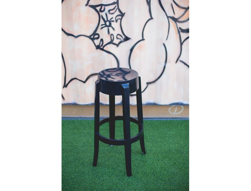 Ghost Stool - Black