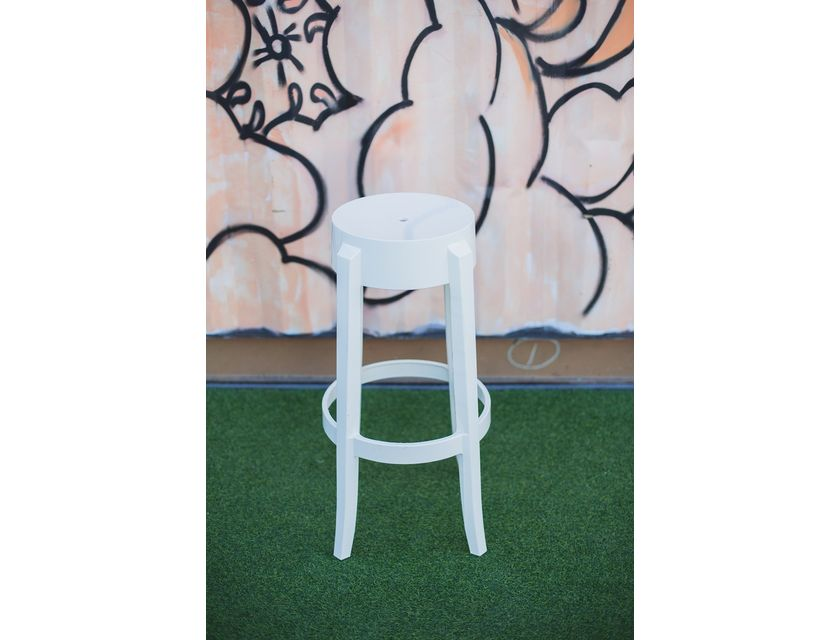 Ghost Stool - White