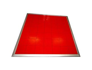Red Dancefloor 6m x 6m