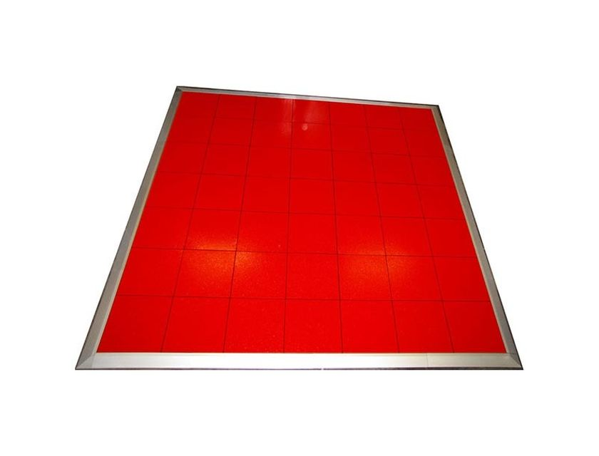 Red Dancefloor 3.6m x 3.6m