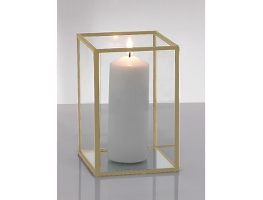 Gold Framed Candle Box 15cm