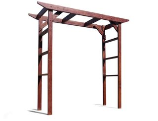 Wooden Framed Arbour