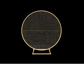 Round Mesh Wall - Gold