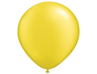 Helium Balloon - Yellow