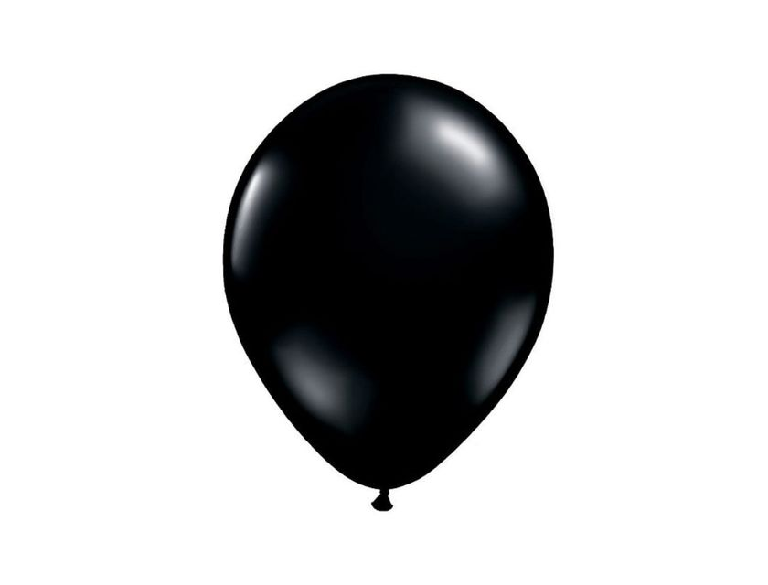 Helium Balloon - Black