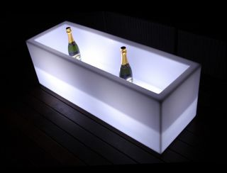 LED Ice Chest