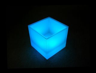 LED Cube Ice Bucket