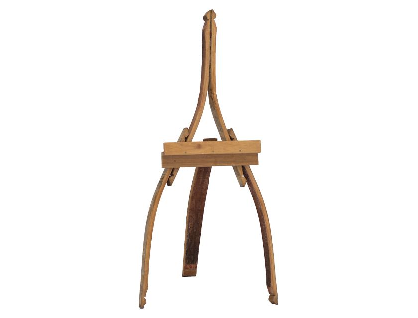 Vintage Wine Barrel Easel