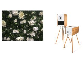 Open Photobooth + Flower Wall Package