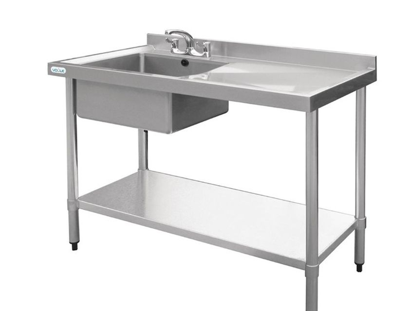 Stainless sink and bench