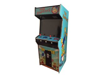 Simpsons Arcade Machine