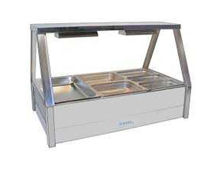 Bain Marie - 3 Large Tray - COMMERCIAL
