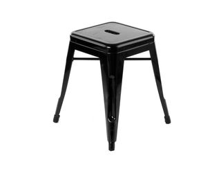 Tolix Rocket Stool  - Black