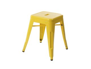 Tolix Rocket Stool  - Yellow