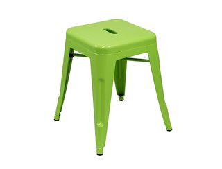 Tolix Rocket Stool  - Lime